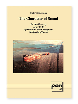 """The Character of Sound"" by Dieter Ennemoser"